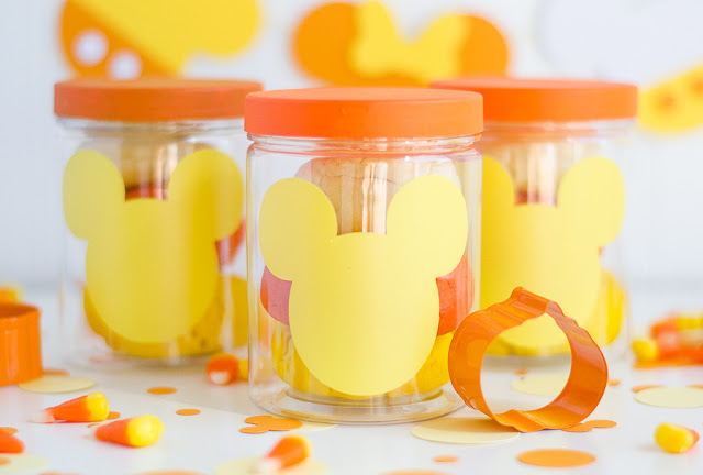 Mickey Mouse Halloween Party |  Cutest Mickey Playdoh party favors