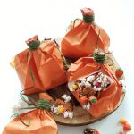 Halloween Popcorn Mix and Pumpkin Bags