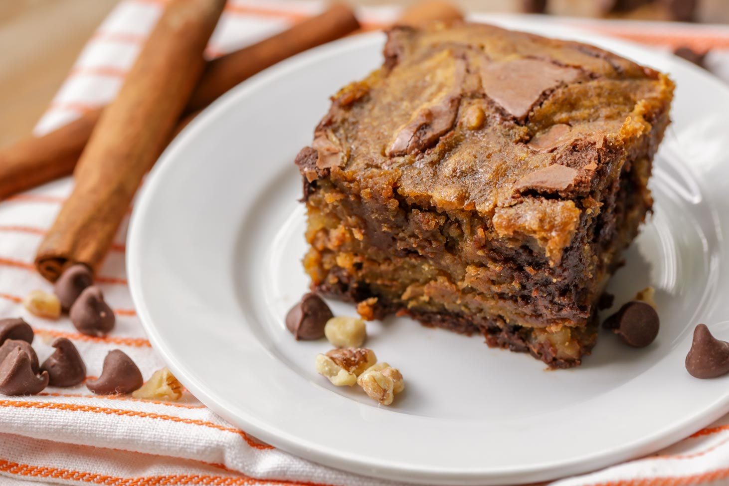 Delicious Pumpkin Swirl Brownie Recipe
