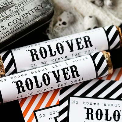 Halloween Rolo Candy Wrappers