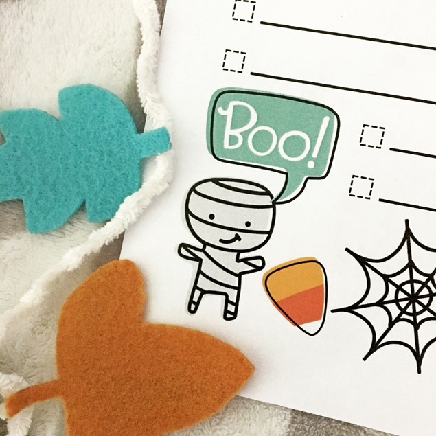 Printable Spooky Bucket List | Make a list of all the fun you want to have this Halloween!