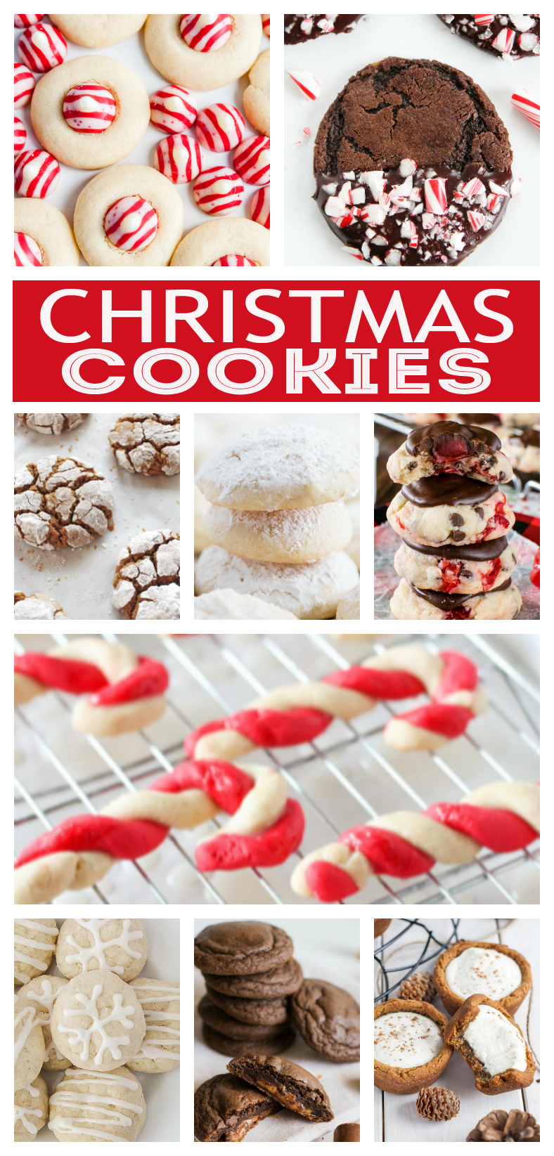Over 25 of The Best Christmas Cookies | Cookie recipes that are perfect for Cookie Exchanges and delivering to your friends and neighbors!