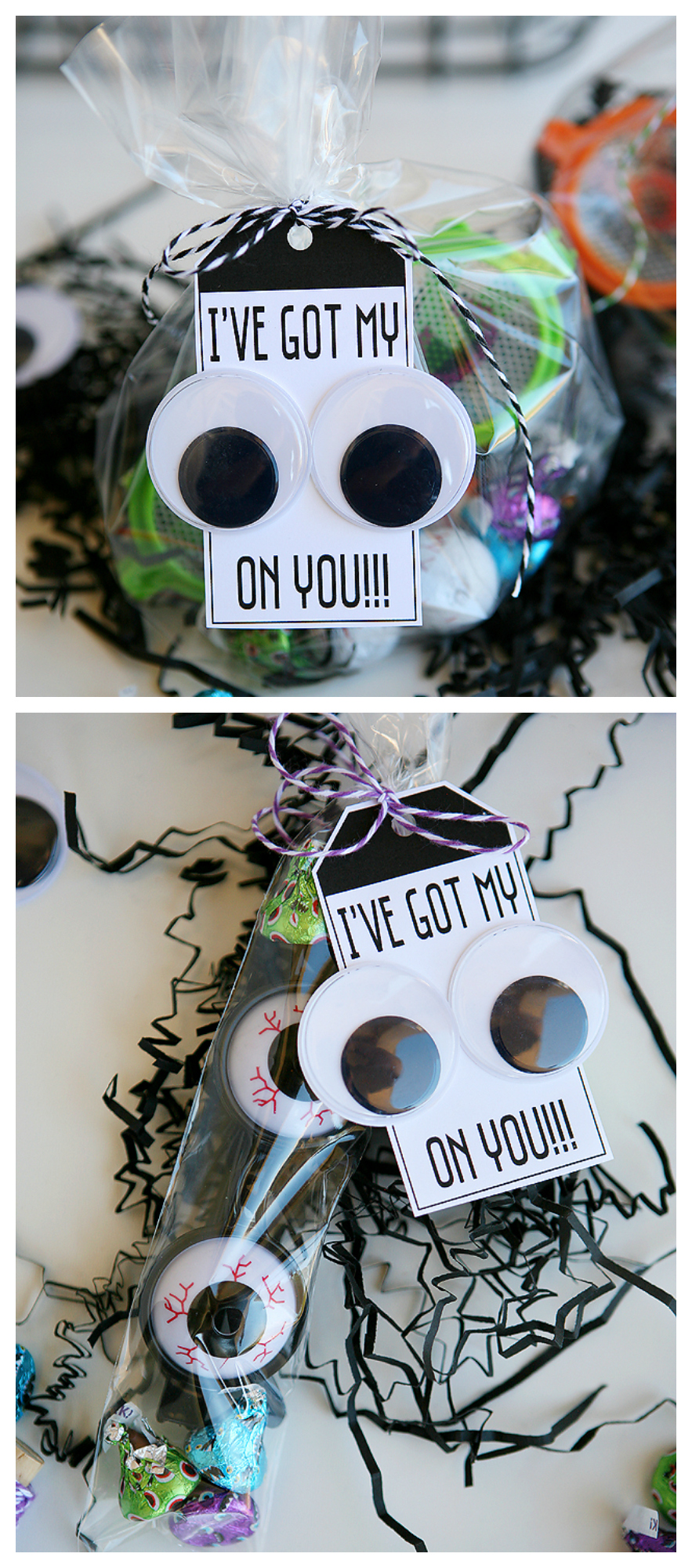 I've Got My EYES On You | Fun Halloween Goody Bags #halloween #halloweenprintables #ivegotmyeyesonyou #halloweengoodybag