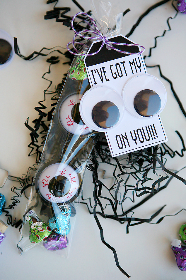 I've Got My EYES On You | Fun Halloween Goody Bags