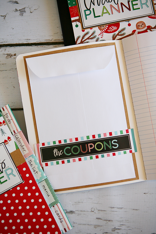Christmas Planner Tutorial! So easy to make and so super cute!