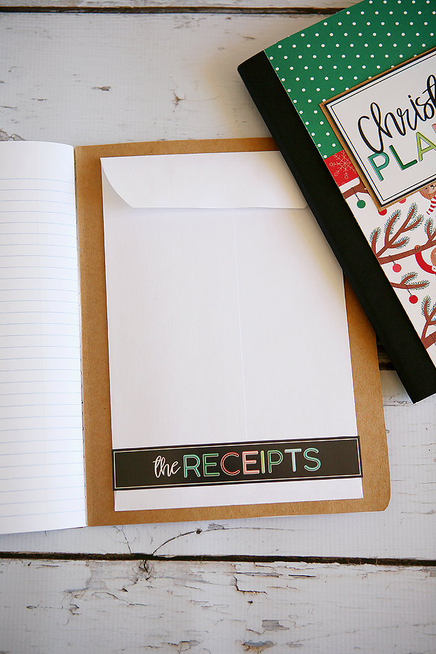 Fun DIY Christmas Planners. So cute and easy to make!