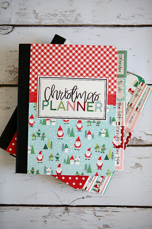 Make your own adorable Christmas Planner! Includes all the free printables!