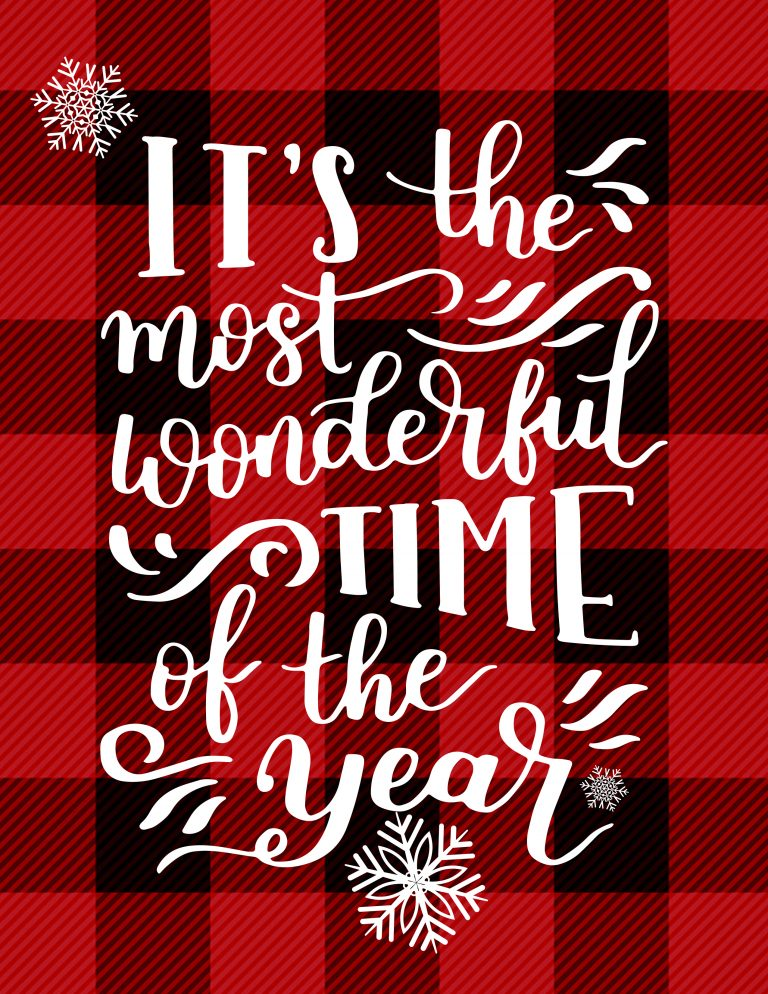 Most Wonderful Time Of The Year | Busy Being Jennifer