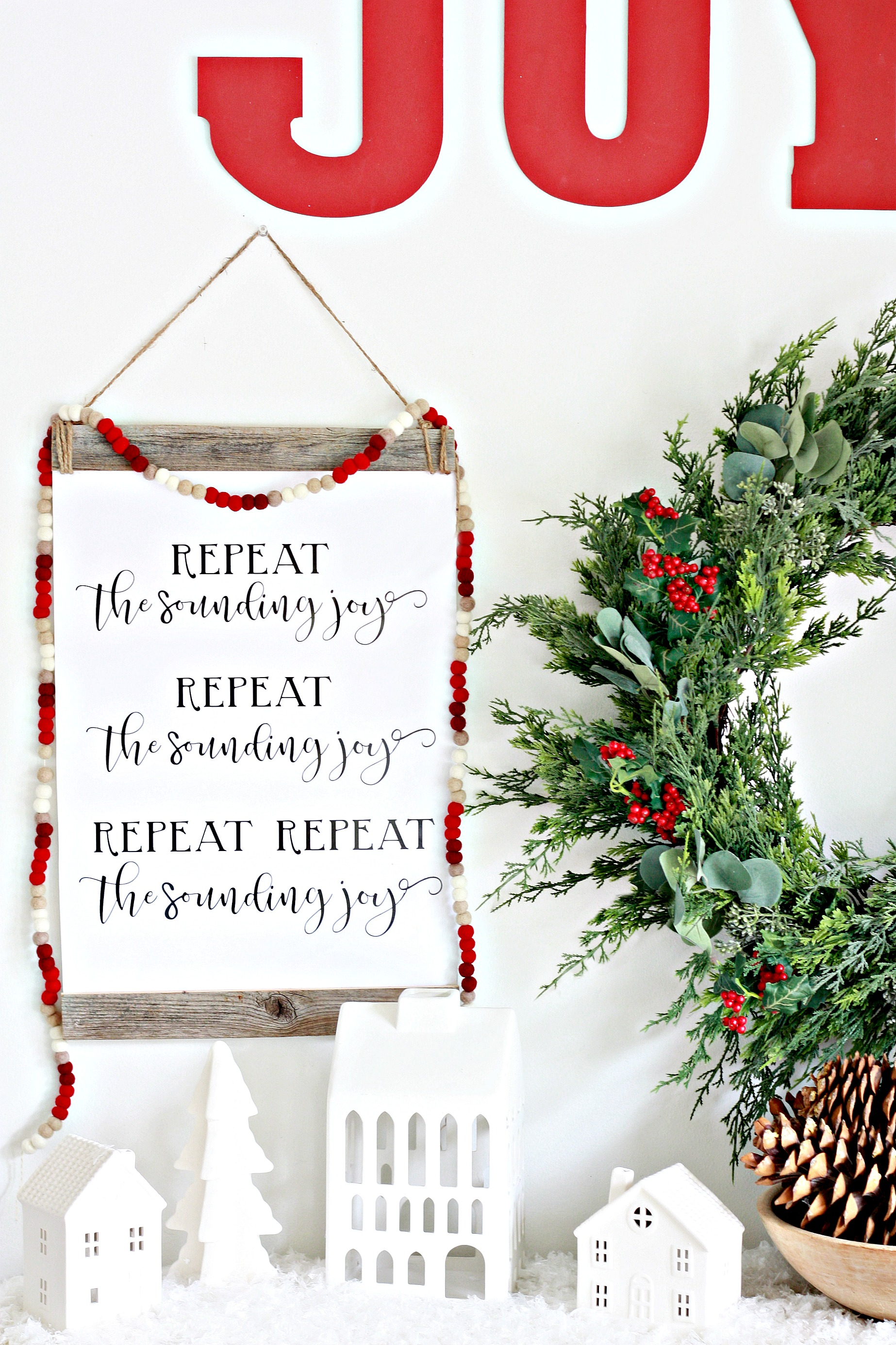 25+ Free Christmas Printables for your Home - Repeat The Sounding Joy | Nest of Posies