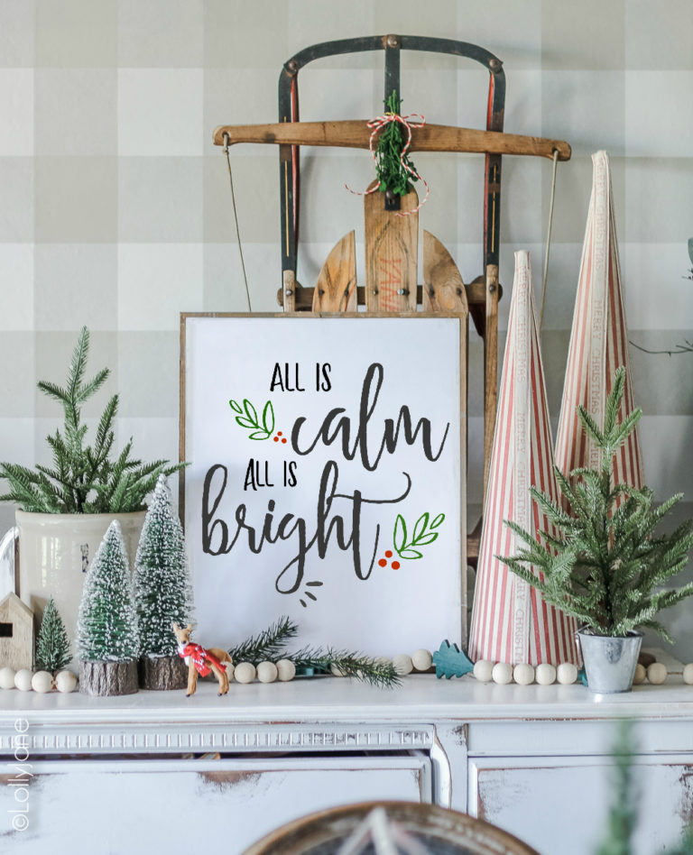 All Is Calm All Is Bright | Lolly Jane