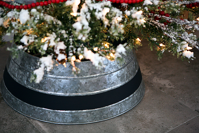 Customized Galvanized Tree Collar | So easy and fun to do!
