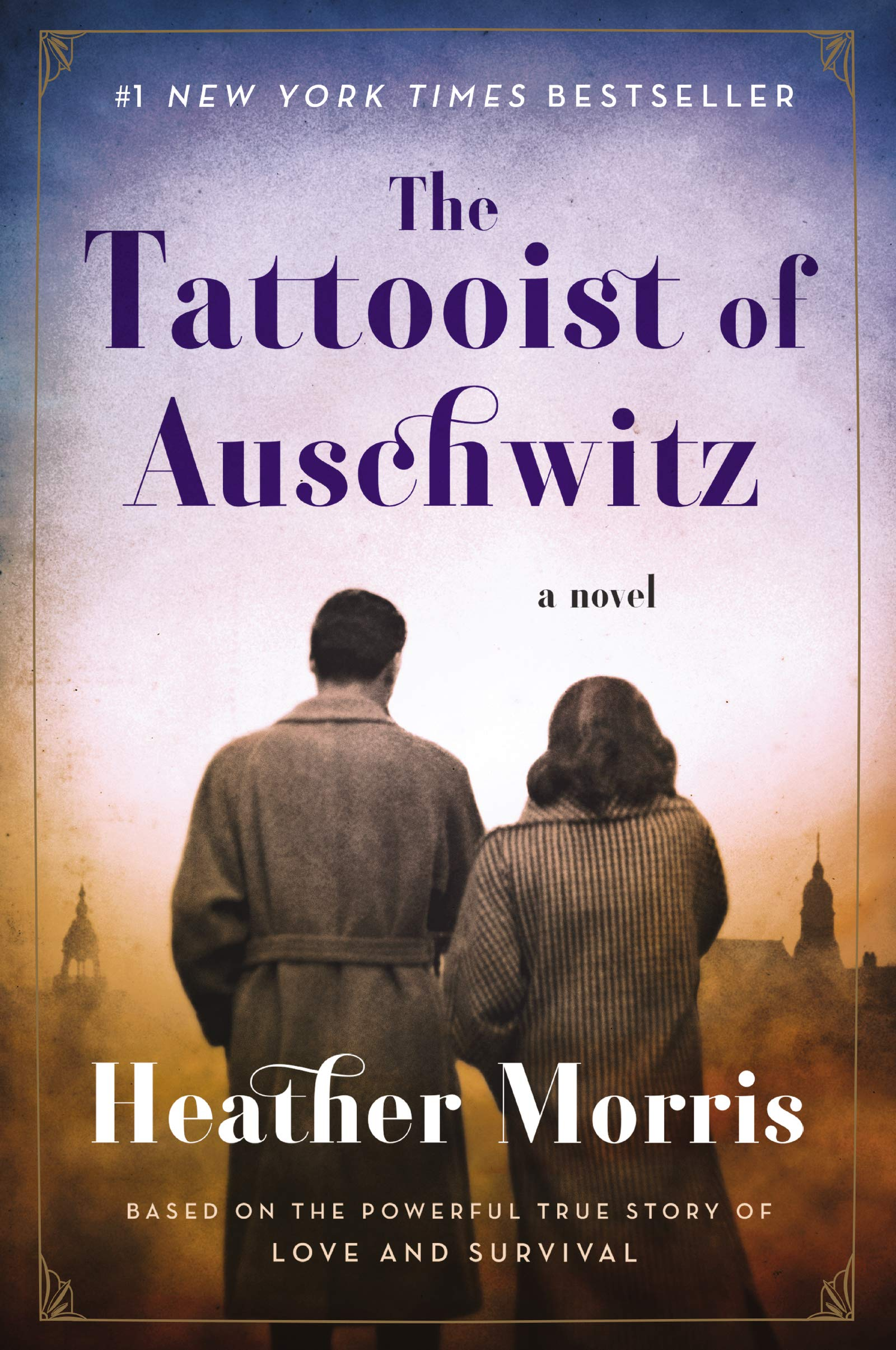 The Tattooist of Auschwitz. So so good.