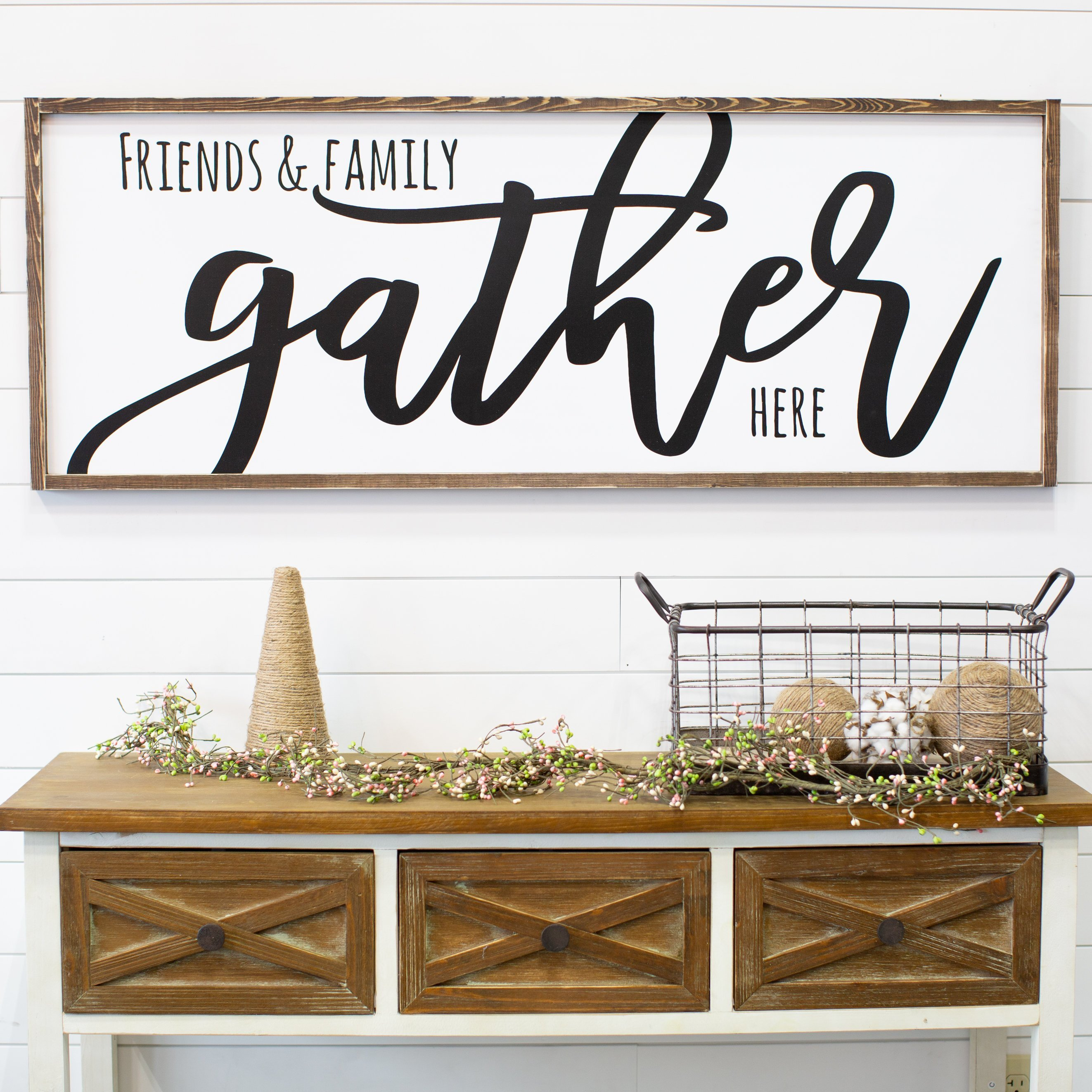 Friends & Family Gather Here | The Love Built Shop