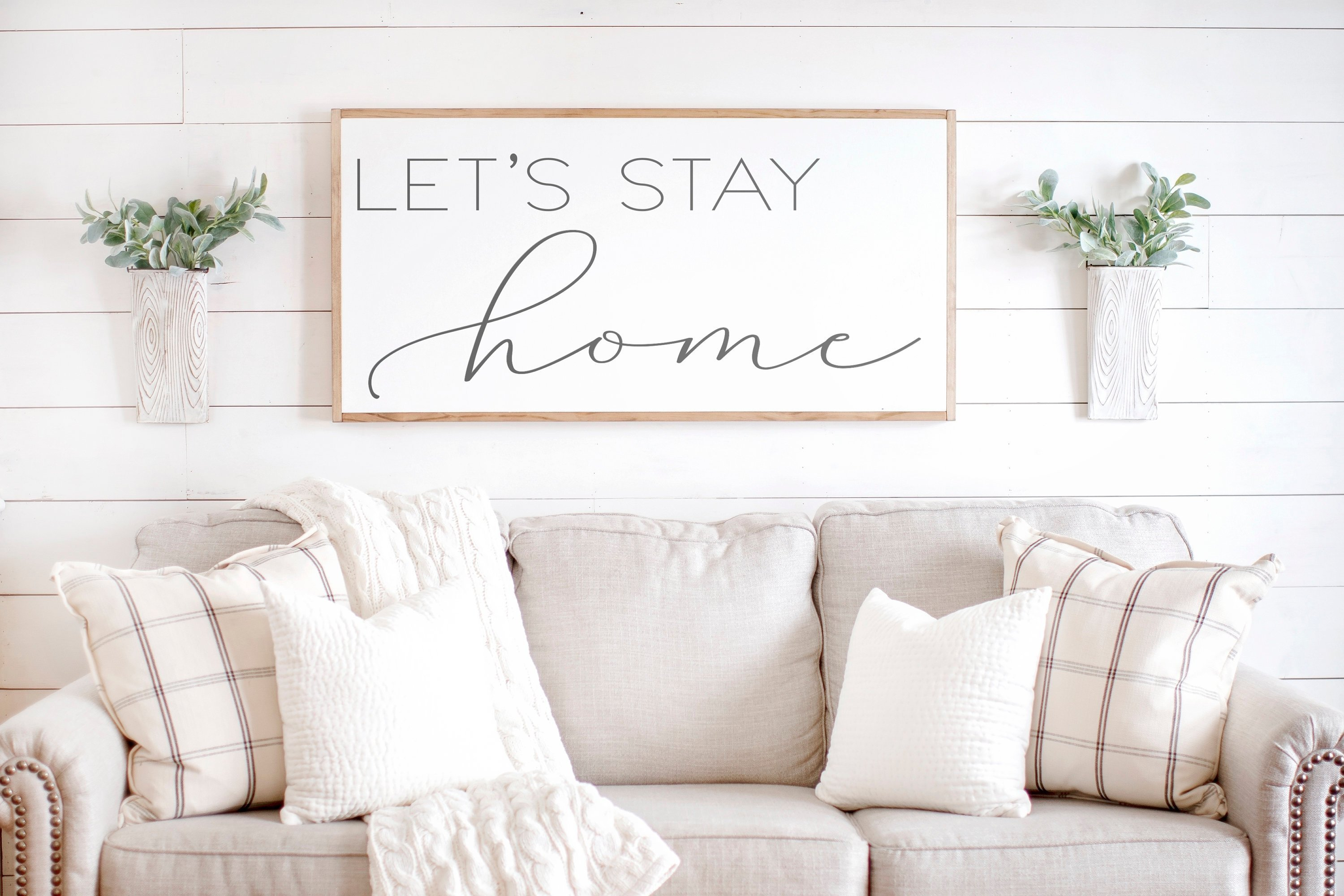 Let's Stay Home | Rooted + Grounded