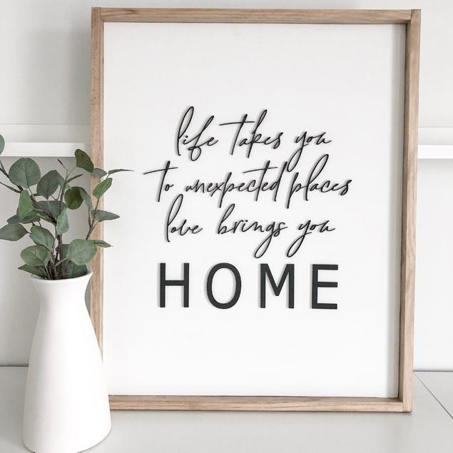 Love Brings You Home   Ann Marie Accessories