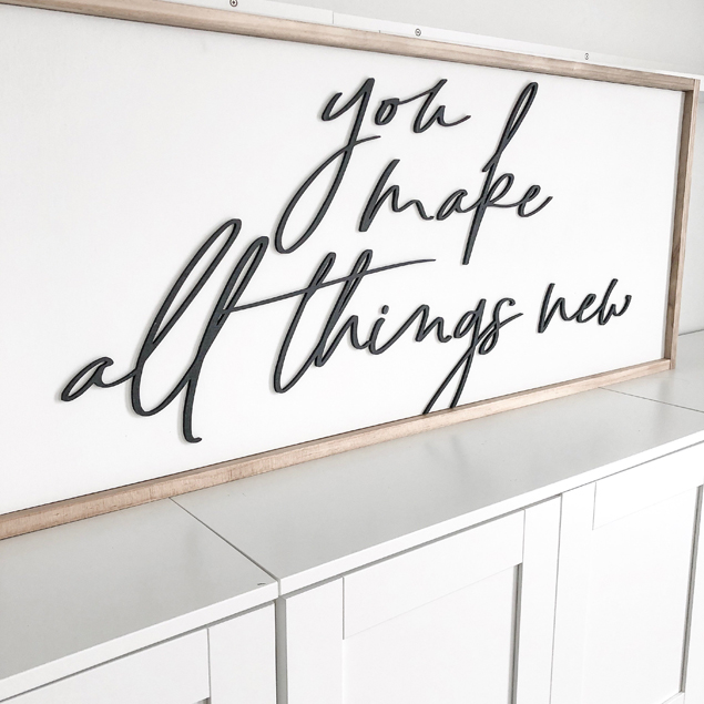 You Make All Things New | Ann Marie Accessories
