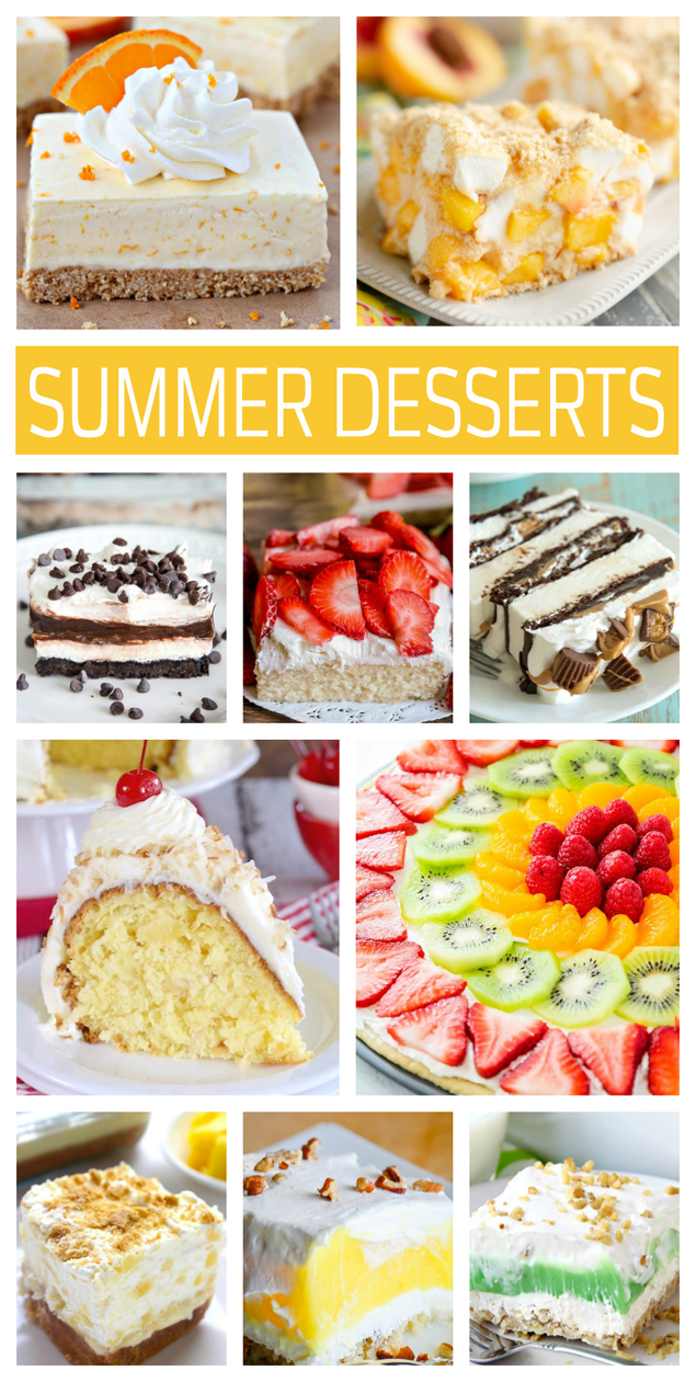 Easy Summer Desserts You Have To Make!