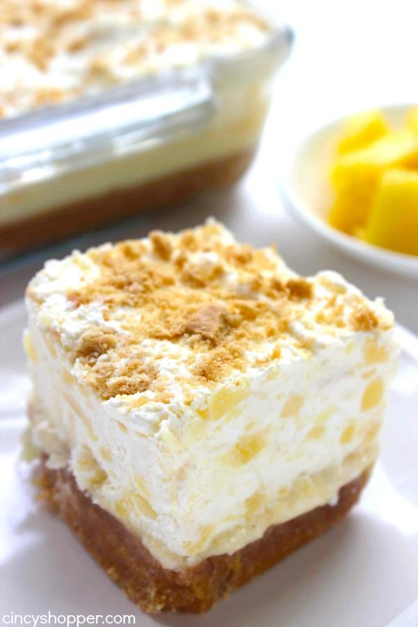 Pineapple Delight | Summer Desserts