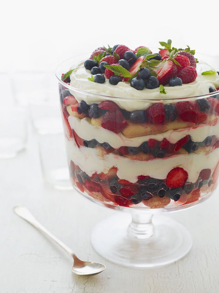 Berry Summer Trifle