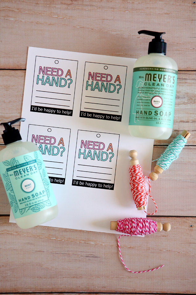 Need A Hand? Teacher Gift Supplies