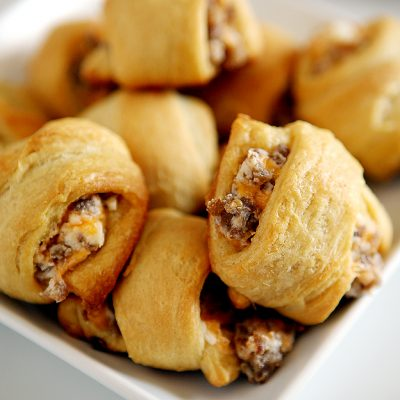 Sausage Cream Cheese Crescent Rolls