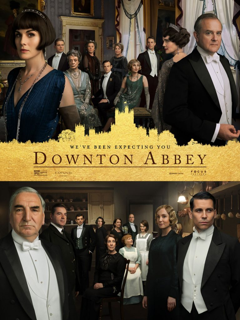 New Downton Abbey Movie! Can't wait.