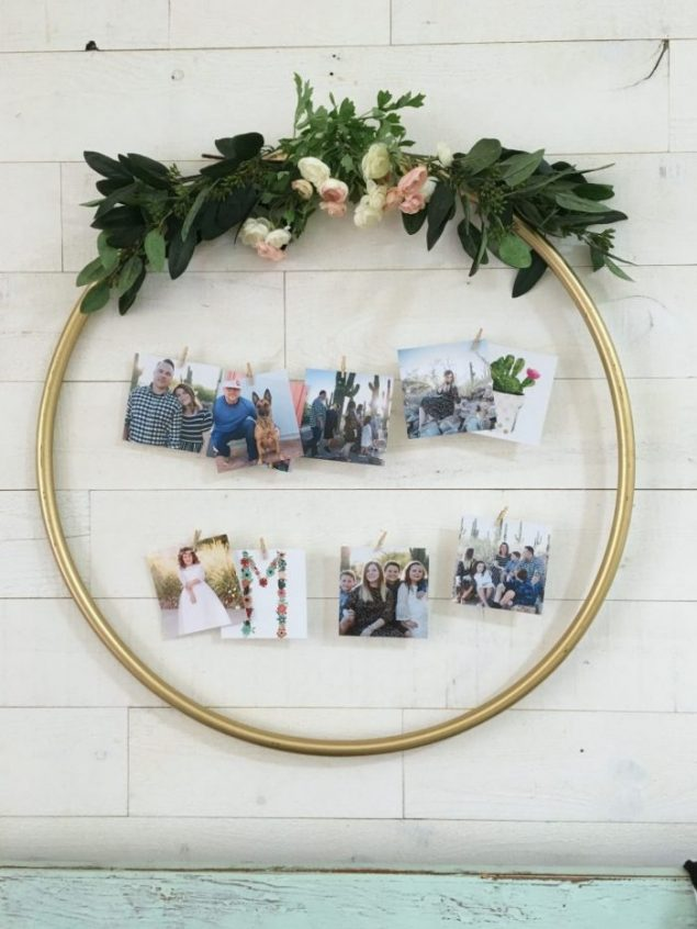 Photo Display Wreath | Lolly Jane