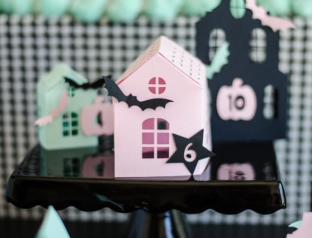 Cutest Haunted Halloween Countdown Village