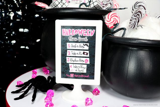 Free Printables for a Halloween Photo Booth
