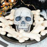 Meringue Bones Halloween Treats