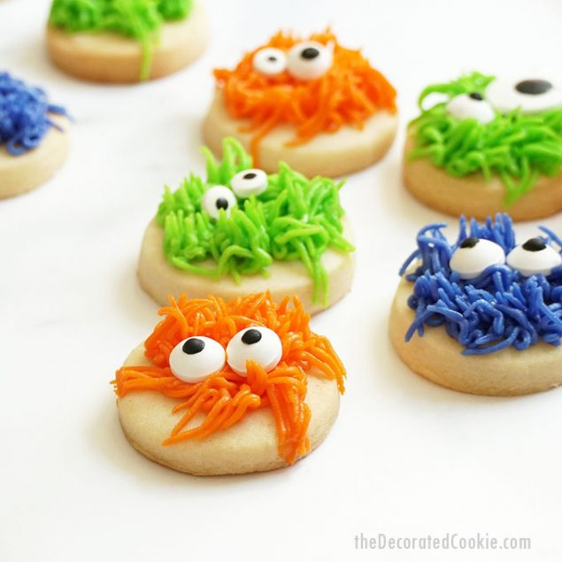 Make a batch of Monster Halloween Cookies