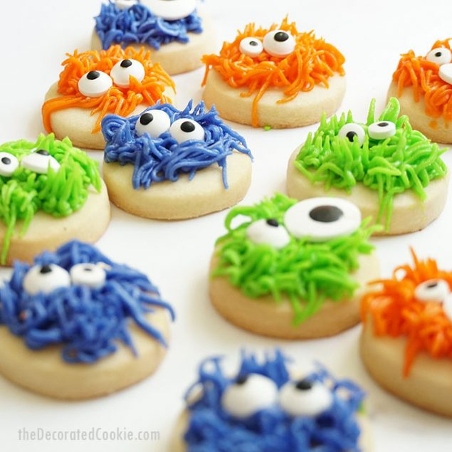 Halloween treats | Monster Halloween Cookies