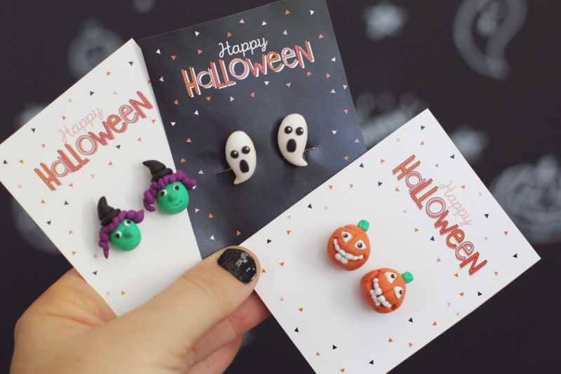 Free Printable Happy Halloween Accessory Cards