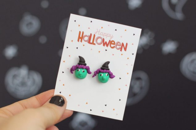 Cutest Happy Halloween Accessory Cards
