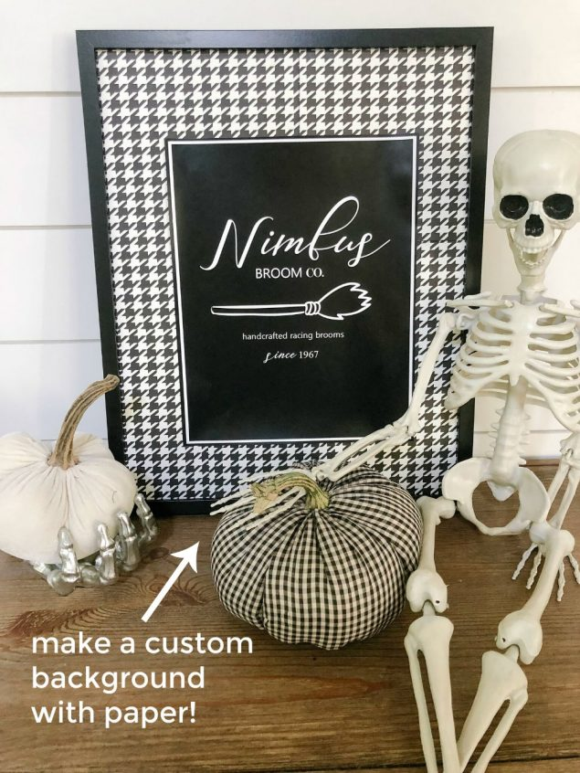 How To Back Your Prints with Paper to customize them!