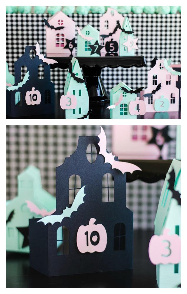 Adorable Haunted Halloween Countdown! | Halloween Craft Ideas