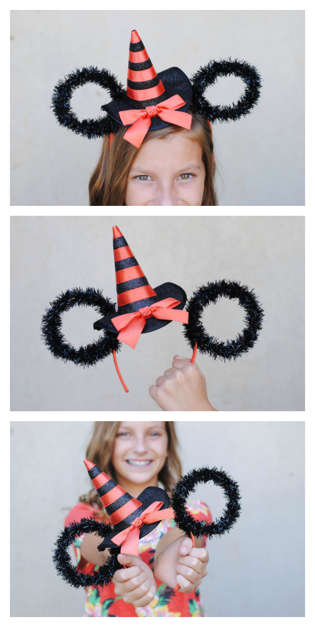 Super Cute DIY Minnie Ears for Halloween | Halloween Disney Crafts