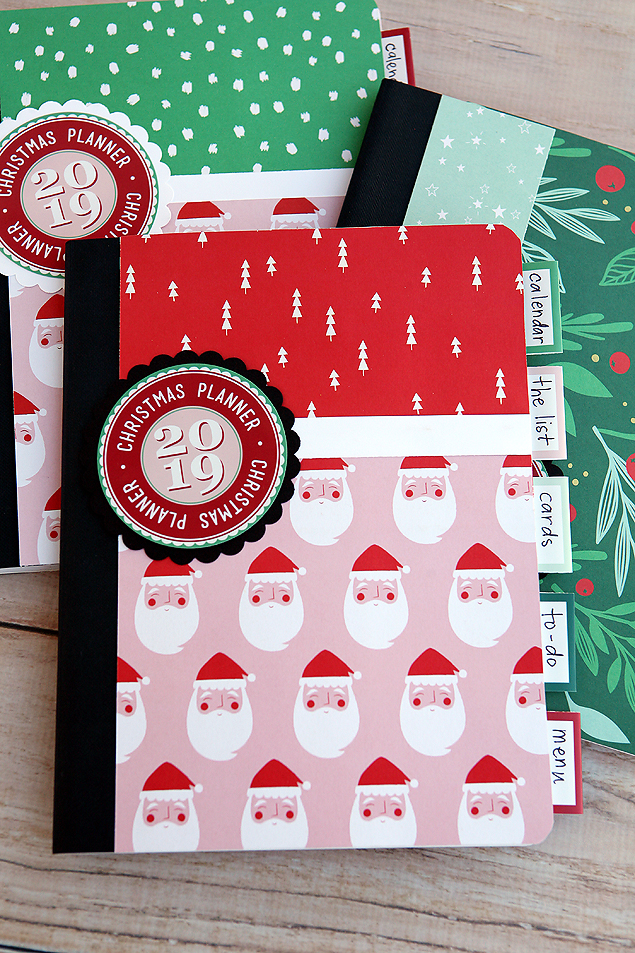 Cutest DIY Christmas Planners. Includes all the free printables so you can make your own.