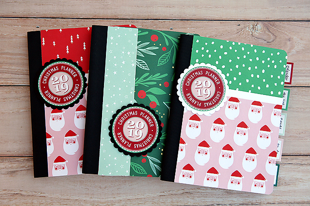 Free Christmas Planner Printables for 2019. Make yourself an adorable Christmas Planner.