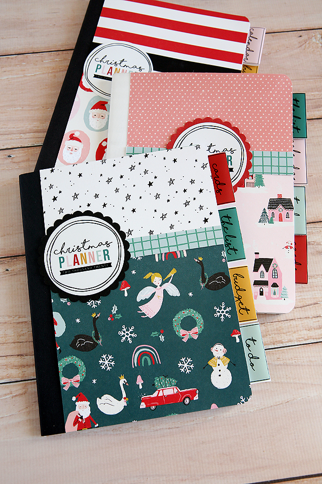 2020 DIY Christmas Planner Printables. It's here and includes all the free printables to make your own Christmas planner for this year!  #ChristmasPlanner