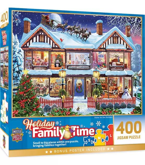 Home For The Holidays Family Time Puzzle
