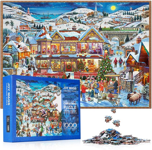 Christmas Village Christmas Puzzle