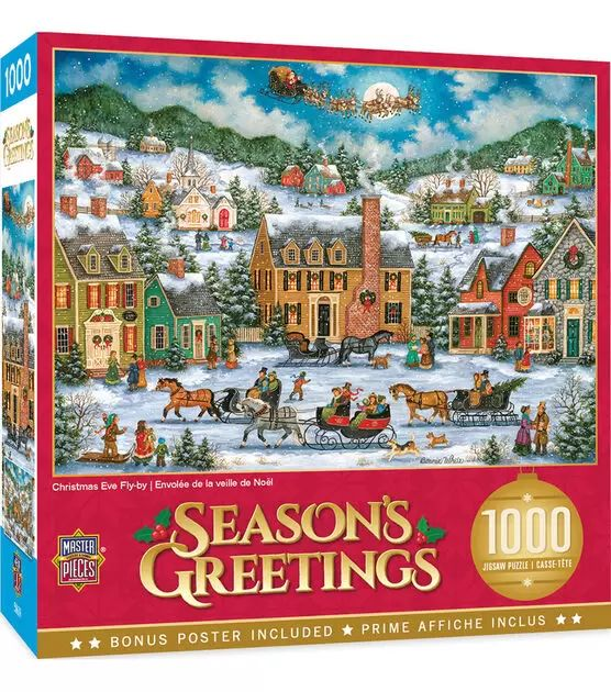 Christmas Even Fly By Puzzle