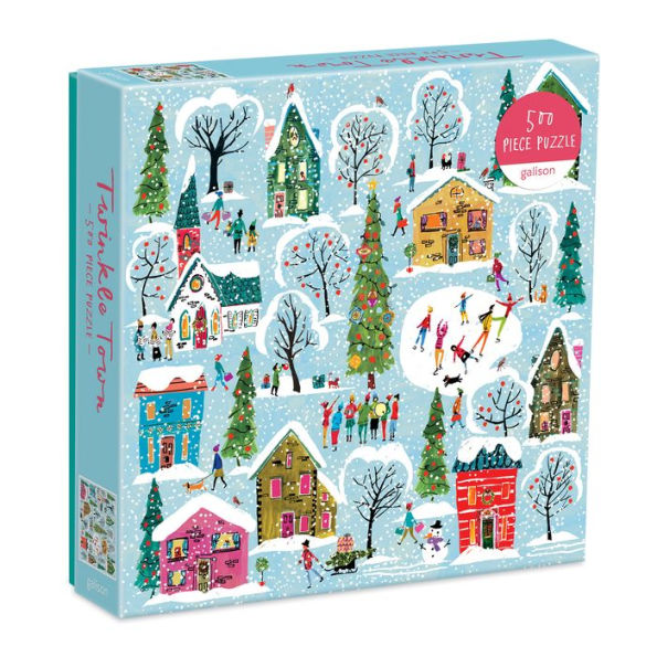 500 Piece Twinkle Town Puzzle