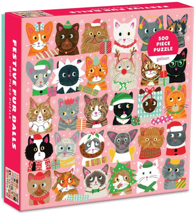 Festive Furballs - Adorable Christmas Puzzle