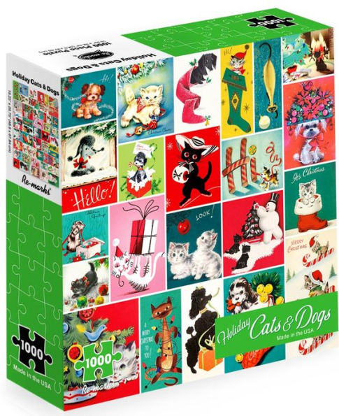 Holiday Cats & Dogs Puzzles