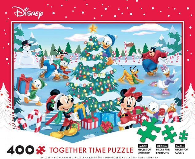 Christmas At The Pond Together Time Puzzle