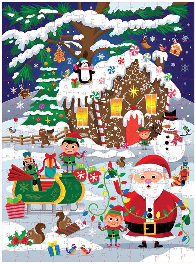 Holiday Winter Wonderland 300 piece puzzle