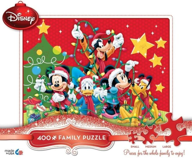 A Holiday Tradition Family Puzzle