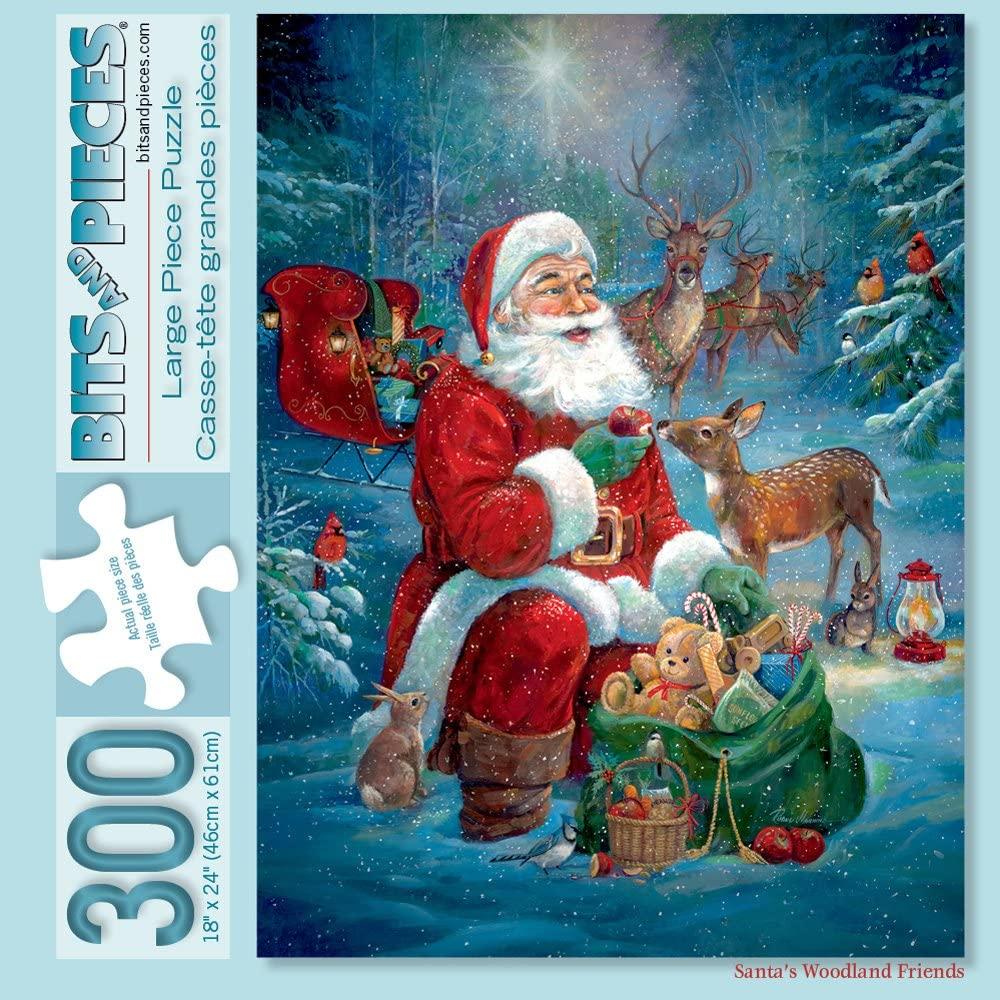 Santa's Woodland Friends Puzzle